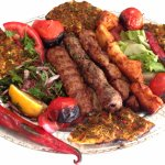 mixed kebab plate.. delicious