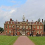 Banbury Hall from the front entrance