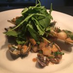 Cornish Clams, Smoked Bacon & Cider