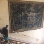 Tapestry on main staricase
