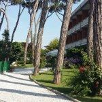 Hotel und Gartenanlage