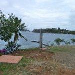 Depuis les bungalows vue sur mer