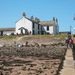 The Ship Inn, Piel Island - from the jetty
