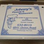 Johnny's Pizzeria - the box!