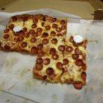 Johnny's Pizzeria - pepperoni pizza