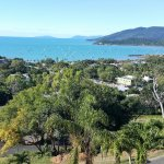 This is the normal view (not zoomed) towards main Airlie Beach harbour from our second floor bal
