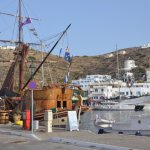 Ios Harbour, walking distance from hotel