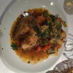 1/4 poulet rôti + légumes