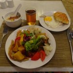 Excellent and tasty selection of dishes at breakfast! :)