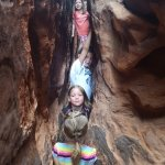 LIttle girls loved the slot canyon
