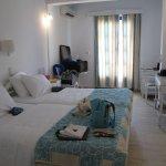 Room 105 at Poseidon Hotel