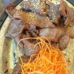 Flaming Beef Entree