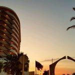 Puente Hotel at dusk
