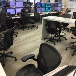 control room for neutrino experiments
