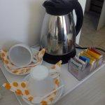 Un té por las mañanas.