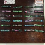 Daily flavors board