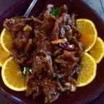 Orange peel beef