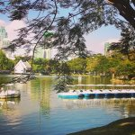 Photo de Le parc de Lumpini