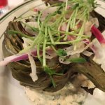 Grilled Artichoke.. and fun conversational food!