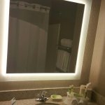 Bathroom with Lighted Mirror