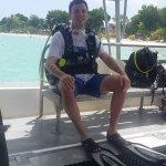Included scuba lesson at sea