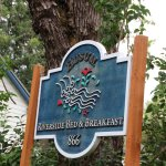 This sign, with abundant flowering plants below was our welcome to a wonderful experience.