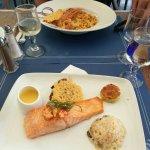 J'ai rarement mangé un saumon aussi délicieux !