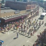The famous Clown Band in the 4th of July Parade.