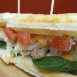 The Classic - Chicken, Spinach, Tomato, & Swiss w/ Zesty Sauce