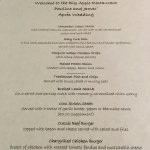 Our Special Menu created by the team at Black Horse Inn