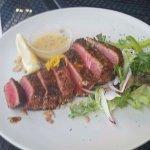 Ahi tuna appetizer
