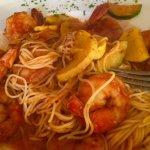 Diablo Shrimp with Zucchini