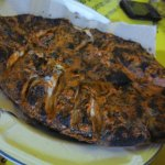 Another graet choice, grilled fish, this is quite large and enough for 3-4 people