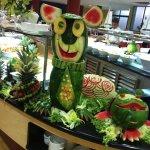 Decoracion en el comedor con frutas
