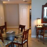 in room dinning table- One-Bedroom King Suite - Oceanfront