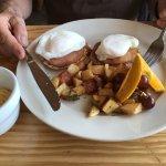 Eggs Benedict-yummmmm