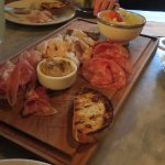 Our starter platter to share - yummy!