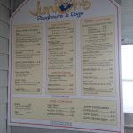 Junior's Donut's and Dog's : Menu