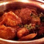 Chicken with Green Chili's at Sitar Balti - Chepstow (04/Jul/16).