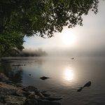 early AM canoe ride