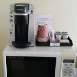 New Keurig in room