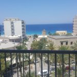 Perfect location close to a windy beach with Turkey in the horizon.(5th floor)