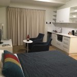 Roomy and comfortable studio unit with kitchenette