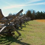 Split Rail fence at battlefield