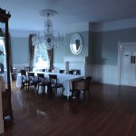 Beautiful dining room...I took these super early in the morning, when the sun is up its full of
