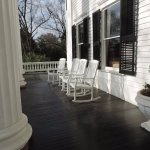Nice front porch, very relaxing!