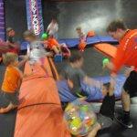 Small and Big Kids having fun