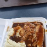 Roast Pork w/Mashed Potatoes, Lasagne w/Garlic Toast