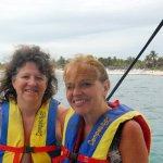 Camino a hacer snorkel en los arrecifes de las costas de Tulum