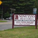 Ninuzzo Trattoria : Road Side Sign